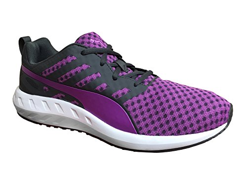 PUMA Women's Flare Running Shoe, Periscope/White/Purple Cactus Flower, 6 B US For Sale