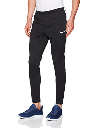 Nike Men's Dry Football Soccer Training Pants (Medium) Black, White