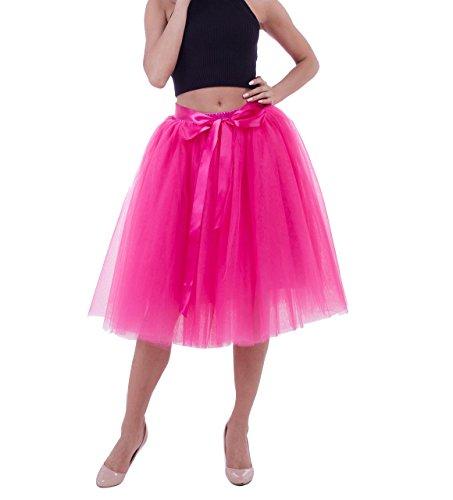 Principessa Da Swing 7 Donna Gonna In Strati Sottogonna Tulle Sposa Rose Crinolina nCwqnS1Zx