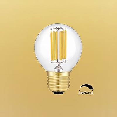 CRLight LED Globe Bulb E26 Base G50 6W 2700K 4000K / G80 5W 2700K