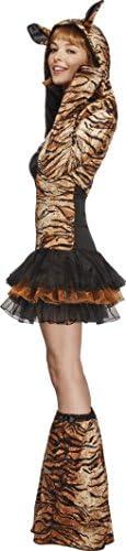 Smiffys Costume Fever de tigre, avec robe tutu et bretelles transparentes amovibles, ves