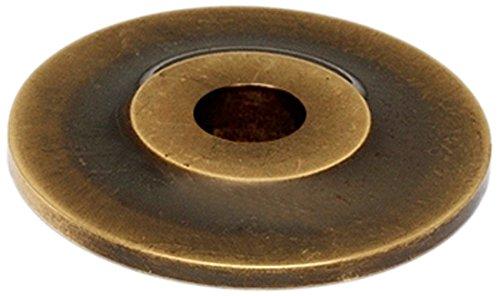 Alno A815-34P-AEM Traditional Knobs Backplates, Antique English Matte, 3/4