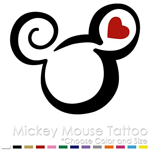 1c23c081b849e Image Unavailable. Image not available for. Color: Mickey Mouse Tattoo ...