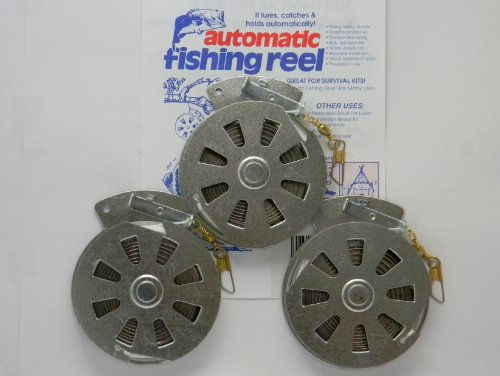 3-Mechanical-Fishers-Yo-Yo-Fishing-Reels-Package-of-3-Reels-Yoyo-Fish-Trap-FLAT-TRIGGER-MODEL