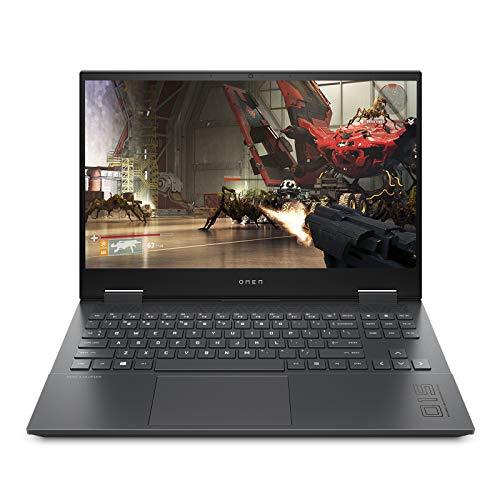 HP OMEN 15.6-inch (39.62 cms) FHD Gaming Laptop (Ryzen 5-4600H/8GB/512GB SSD/Windows 10/NVIDIA GTX 1660ti 6GB/Shadow Black/2.36 kg), 15-en0002AX