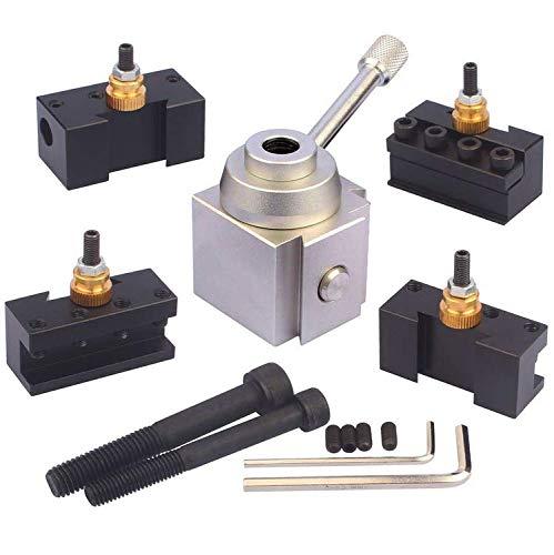 JWGJW 120034 Tooling Package Mini Lathe Quick Change Tool Post & Holders Multifid Tool ()