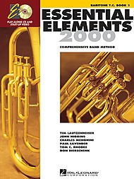 Hal Leonard Essential Elements for Band - Baritone T.C. (Book 1 with EEi)