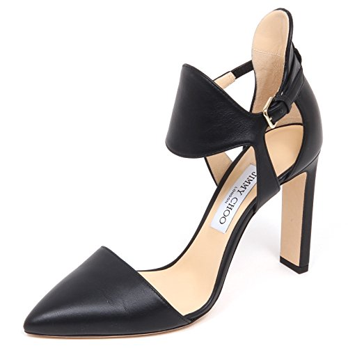 Choo Jimmy Black E6546 Woman Shoe Nero Donna Moon Decollete Scarpe ddxrqvI