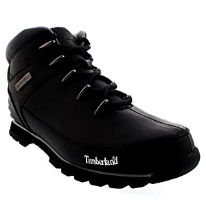 Timberland Mens EURO Sprint Hiker Shoes Walking Hiking Ankle Boots - Black - 9.5