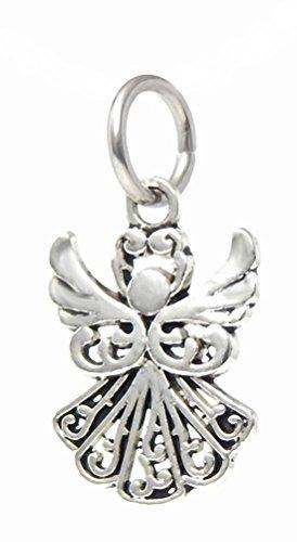 J&M Dangle Angel Charm Bead for Charms Bracelets ()