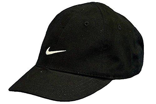 more photos b5ede 25efe Nike Boys Infants 12-24 Months Black Embroidered Swoosh Cap
