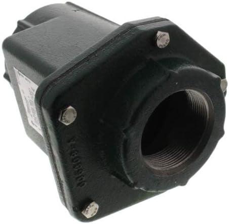 NPT Zoeller 1-1//2 Cast Iron High-TemperatureFull-Flow Unicheck Valve