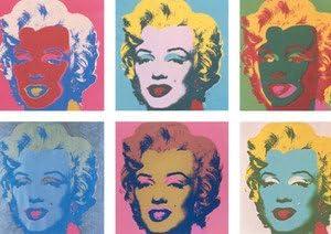 Andy Warhol Marilyn Monroe X 6 Faces Couleur A3 Poster Amazon Fr Cuisine Maison