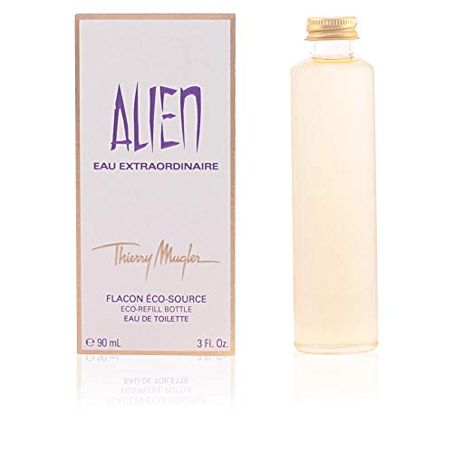 Thierry Mugler Alien Eau Extraordinaire Eau De Toilette 3 Oz/ 90 Ml - Splash - Eco-refill Bottle for Women By 3 Fl Oz Eau De Toilette Refill
