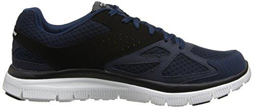 Skechers Flex AdvantageMaster Plan Herren Sneakers Blau (Nvbk)