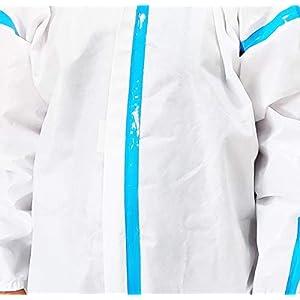 BINARYSOFT PPE Kit Coverall PPE Safety Kit SI...
