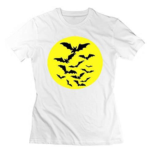 Halloween Bat Custom Add Your Own Design Photo Cotton T Shirts -