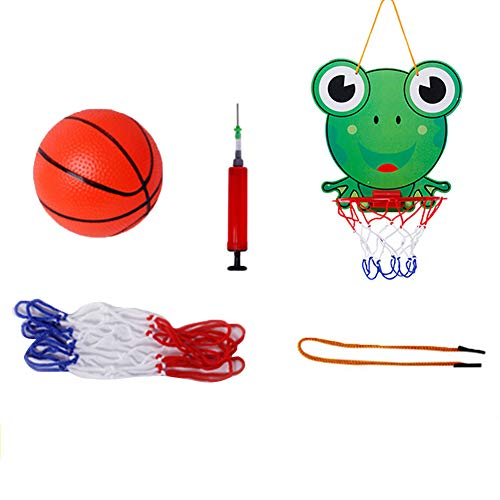 TRENTON Mini Hanging Basketball Netball Hoop Set Kids Game Toys for Office Bedroom Wall Door ()