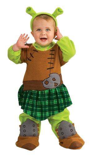 [Princess Fiona Warrior Costume - Newborn] (Warrior Fiona Costumes)
