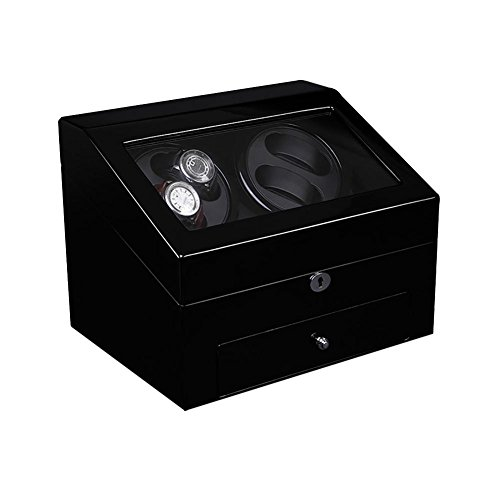 KAIHE-BOX Watch Winders for automatic watches Winder storages box Display Box Case (4+6) Quiet Mabuchi Motors by KAIHE-BOX (Image #4)