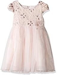 Girls Short Sleeve Side Sash Ballerina Dress