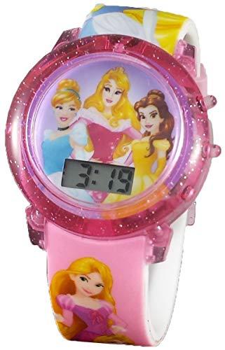 Disney Princess Girl's Digital Light Up Watch