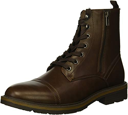 Unlisted by Kenneth Cole Men's Design 30305 Oxford Boot, Brown Waxy, 11.5 M US by Unlisted by Kenneth Cole