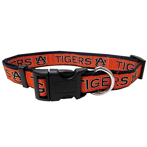 Auburn Tigers Premium Large Dog Collar