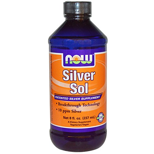 Now Foods: Silver Sol Patented Silver Supplement, 8 fl oz (2 pack)
