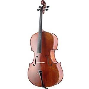 Stagg XHG 4/4para violonchelo de madera de arce de rayas de tigre