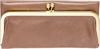 Hobo Womens Rachel Vintage Wallet Leather Clutch Purse (Ash)