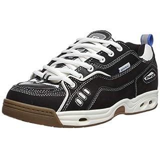 Globe Men's CT-IV Classic Skate Shoe, Black/White/Gum, 12 Medium US