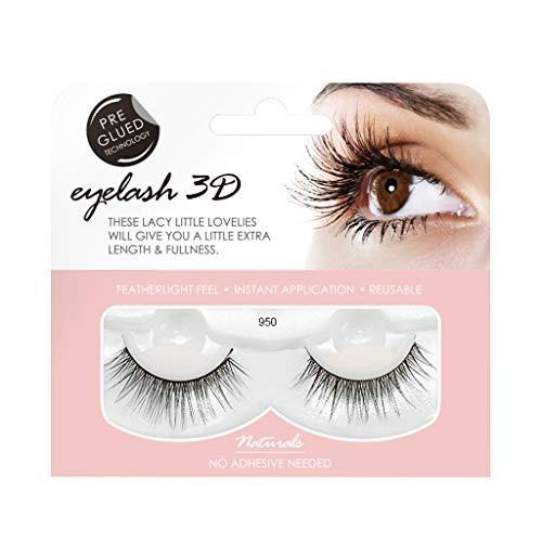 Ktyssp 1 Pair 3D False Lashes Fluffy Strip Eyelashes Long Natural Party Makeup (I) ()