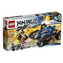 LEGO (LEGO) Ninjago (Ninja Go) 70723 Thunder Raider Toy block toys (parallel import)