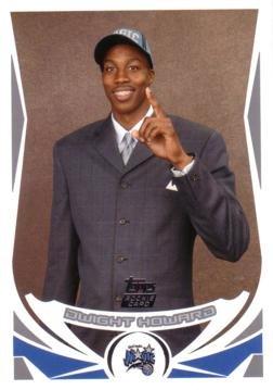 05 Topps Basketball Card - 2004 / 05 Topps Basketball #221 Dwight Howard Rookie Card