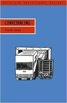 Conveyancing (Professional Master)