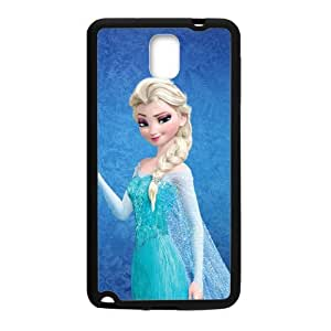 Happy Frozen Princess Elsa Cell Phone Case for Samsung Galaxy Note3
