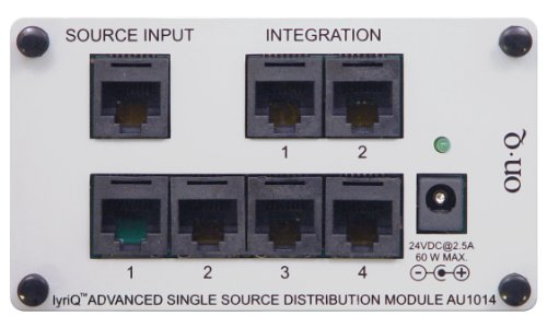 4 lyriQ Advanced Single Source Distribution Module (Bracket included) (Whole House Intercom Audio)