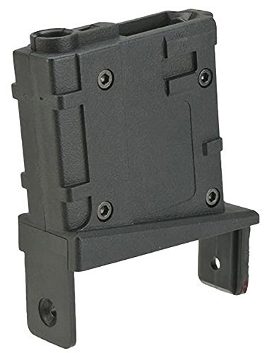 Evike Angel Custom Firestorm/Thunderstorm Airsoft Drum Magazine Adapter (Version: M4/Black)