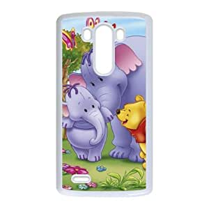 LG G3 Cell Phone Case White Disney Pooh's Heffalump Movie Character Lumpy the Heffalump 001 YD733443