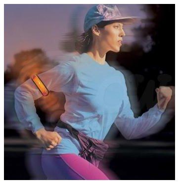 LED High Visibility Flashing Safety Armband Cycling Jogging Walking Reflective LED Armband
