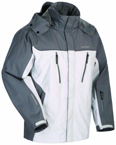 Rocket Suzuki Joe Textile (Cortech Brayker Textile Waterproof Snowmobile Jacket Silver (Choose Size))