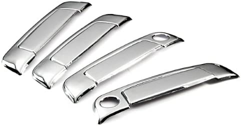 Triple Mirror Chrome Side Door Handle Covers Trims For 1992-1999 BMW E36 3-Series 2Dr 1988-1996 E34 5-Series 2Dr 1889-1994 E32 7-Series 1996-2002 Z3 Roadster M Coupe Brand NEW