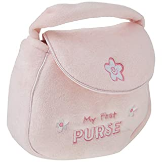 "Baby GUND My First Purse Stuffed Plush Playset, 8"", 5 pieces"