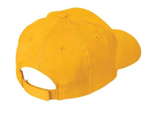 (Port & Company Youth 6-Panel Twill Cap>One size Maroon)