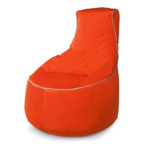Sunbrella Upright Bean Bag Chair with Lumbar Support by Hip Chik Chairs