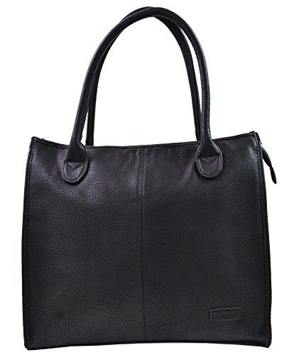 Gallantry , Damen Tote-Tasche Schwarz schwarz