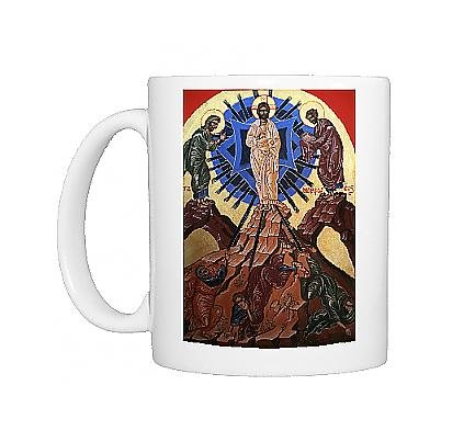 Photo Mug Of Icon Of Jesus S Transfiguration  Le Bec Hellouin  Eure  Normandy  France