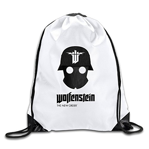 Price comparison product image Wolfenstein Cool Drawstring Backpack Drawstring Bag