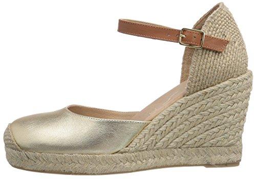 Unisa Castilla_SM, Alpargatas para Mujer, Dorado-Gold (Platino), 41 EU: Amazon.es: Zapatos y complementos